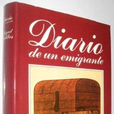 Libros de segunda mano: DIARIO DE UN EMIGRANTE - MIGUEL DELIBES. Lote 221663602
