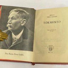 Libros de segunda mano: AÑO 1962 - TORMENTO POR BENITO PÉREZ GALDÓS - AGUILAR COLECCIÓN CRISOL Nº 365. Lote 221709361