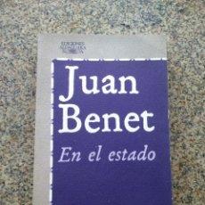 Libros de segunda mano: EN EL ESTADO -- JUAN BENET -- ALFAGUARA 1977 --. Lote 221714422