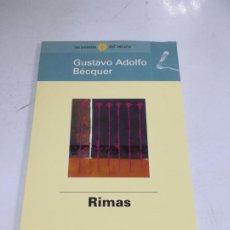 Libros de segunda mano: LAS POESÍAS DEL VERANO. GUSTAVO ADOLFO BÉCQUER. RIMAS. EL MUNDO. Lote 221742118