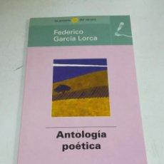 Libros de segunda mano: LAS POESÍAS DEL VERANO. FEDERICO GARCÍA LORCA. ANTOLOGÍA POÉTICA. EL MUNDO. Lote 221742357