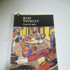 Libros de segunda mano: CUNA DE GATO. KURT VONNEGUT. 1º ED. 1994. AVE FENIX. ED.PLAZA & JANES. 223 PAGINAS.. Lote 221742680
