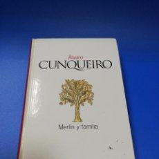 Libros de segunda mano: MERLIN Y FAMILIA. ALVARO CUNQUEIRO. CLASICOS DEL SIGLO XX. 2003.. Lote 221891981