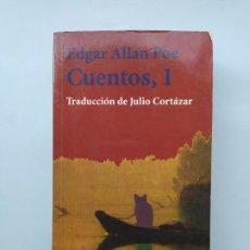 Libros de segunda mano: CUENTOS 1. EDGAR ALLAN POE. ALIANZA EDITORIAL Nº 5506. TDK544. Lote 221989028