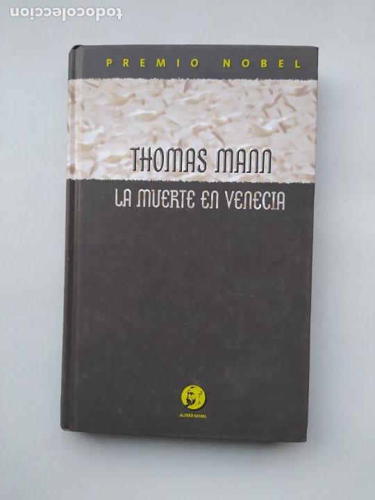 LA MUERTE EN VENECIA. THOMAS MANN. TDK544 (Libros de Segunda Mano (posteriores a 1936) - Literatura - Narrativa - Otros)