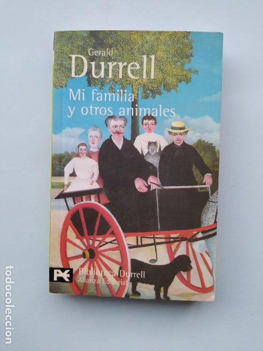 MI FAMILIA Y OTROS ANIMALES. - GERALD DURRELL. ALIANZA EDITORIAL Nº 0501. TDK544 (Libros de Segunda Mano (posteriores a 1936) - Literatura - Narrativa - Otros)