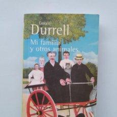 Libros de segunda mano: MI FAMILIA Y OTROS ANIMALES. - GERALD DURRELL. ALIANZA EDITORIAL Nº 0501. TDK544. Lote 221989737