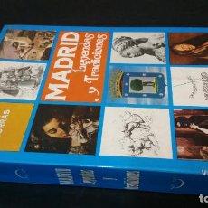 Libros de segunda mano: 1973 - TOMÁS BORRÁS - MADRID. LEYENDAS Y TRADICIONES - 1ª ED., DEDICADO. Lote 222053803