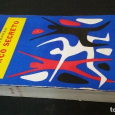 Libros de segunda mano: 1959 - TOMÁS BORRÁS - CIRCO SECRETO - DEDICADO. Lote 222059321