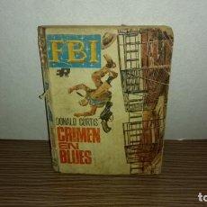 Libros de segunda mano: (A) CRIMEN EN BLUES - DONALD CURTIS. Lote 222092995