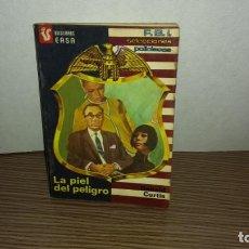 Libros de segunda mano: (A) LA PIEL DEL PELIGRO - DONALD CURTIS. Lote 222095600