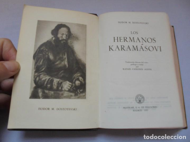 Libros de segunda mano: DOSTOYEVSKI. LOS HERMANOS KARAMOSOVI. EDITORIAL AGUILAR. 1953. VER FOTOGARFIAS ADJUNTAS - Foto 7 - 222353751