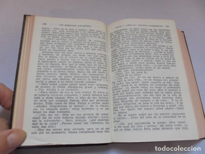 Libros de segunda mano: DOSTOYEVSKI. LOS HERMANOS KARAMOSOVI. EDITORIAL AGUILAR. 1953. VER FOTOGARFIAS ADJUNTAS - Foto 10 - 222353751