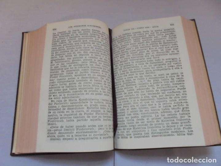Libros de segunda mano: DOSTOYEVSKI. LOS HERMANOS KARAMOSOVI. EDITORIAL AGUILAR. 1953. VER FOTOGARFIAS ADJUNTAS - Foto 11 - 222353751