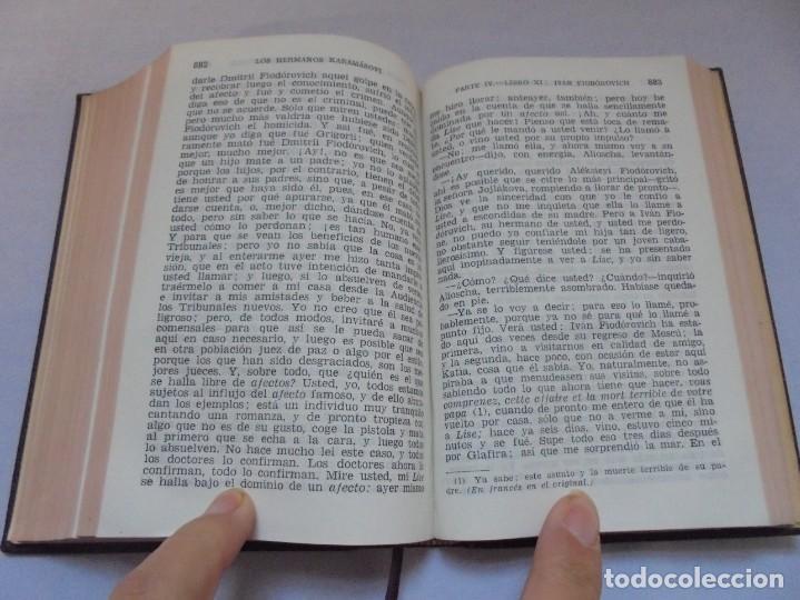 Libros de segunda mano: DOSTOYEVSKI. LOS HERMANOS KARAMOSOVI. EDITORIAL AGUILAR. 1953. VER FOTOGARFIAS ADJUNTAS - Foto 12 - 222353751