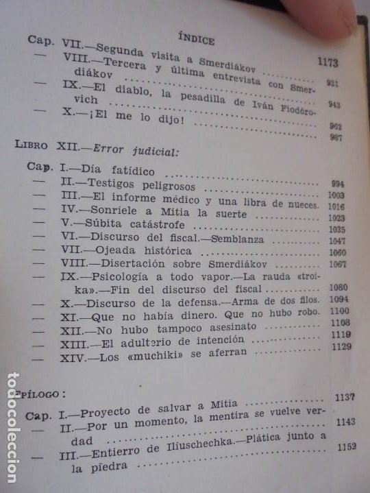 Libros de segunda mano: DOSTOYEVSKI. LOS HERMANOS KARAMOSOVI. EDITORIAL AGUILAR. 1953. VER FOTOGARFIAS ADJUNTAS - Foto 17 - 222353751