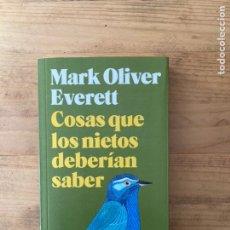 Libros de segunda mano: COSAS QUE LOS NIETOS DEBERÍAN SABER. MARK OLIVER EVERETT. BLACKIE BOOKS. Lote 222522192