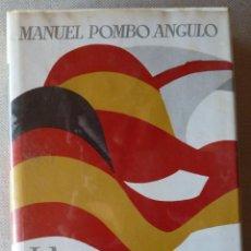 Libros de segunda mano: MANUEL POMBO ANGULO. LA SOMBRA DE LAS BANDERAS. NARRATIVA. SANTANDER. CANTABRIA. GUERRA CIVIL.. Lote 222523100