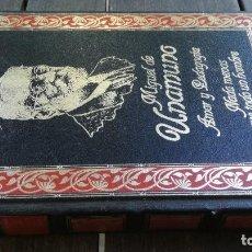 Libros de segunda mano: AMOR Y PEDAGOGIA - NADA MENOS QUE TODO UN HOMBRE - UNAMUNO - CLUB INTERNACIONAL DEL LIBRO - X206. Lote 222576060