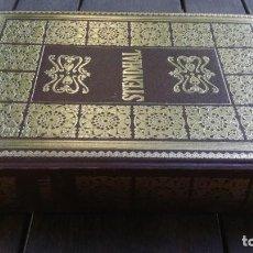 Libros de segunda mano: ROJO Y NEGRO, LA CARTUJA DE PARMA, STENDHAL, MAIL IBERICA X405. Lote 222584016