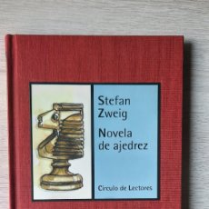 Libros de segunda mano: LIBRO NOVELA DE AJEDREZ (STEFAN ZWEIG) - COLECCIÓN ESTACIÓN LECTURA - CÍRCULO DE LECTORES. Lote 222625297