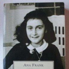 Libros de segunda mano: ANA FRANK - DIARIO. Lote 222677042