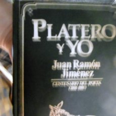Libros de segunda mano: PLATERO Y YO. Lote 222731880