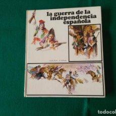 Libros de segunda mano: LA GUERRA DE LA INDEPENDENCIA ESPAÑOLA - PLAZA & JANES - AÑO 1974 - EDICIÓN JUVENIL. Lote 222763257