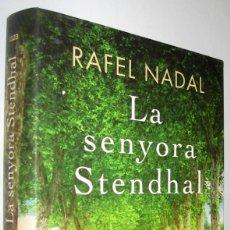 Libros de segunda mano: LA SENYORA STENDHAL - RAFEL NADAL - EN CATALAN. Lote 222786615