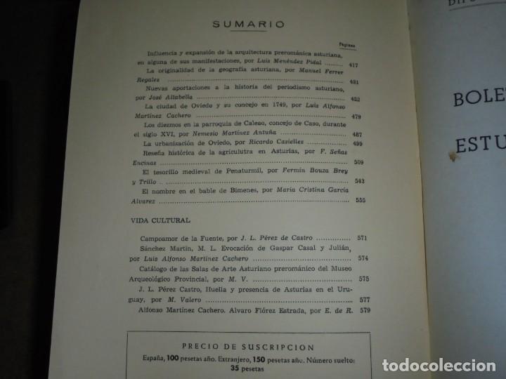 Libros de segunda mano: BOLETIN DEL INSTITUTO DE ESTUDIOS ASTURIANOS.Nº 44.-AÑO XV OVIEDO 1961.LA CIUDAD DE OVIEDO Y SU CONC - Foto 3 - 222807855