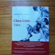 Libros de segunda mano: VALOR DE CLARA USÓN. Lote 222856473