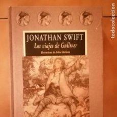Libros de segunda mano: LOS VIAJES DE GULLIVER - JONATHAN SWIFT - VALDEMAR - COLECCIÓN AVATARES. Lote 223028252