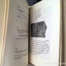Libros de segunda mano: MILLARES CARLO : CONSIDERACIONES SOBRE LA ESCRITURA VISIGÓTICA CURSIVA. (PALEOGRAFÍA. LÁMINAS). Lote 223596558