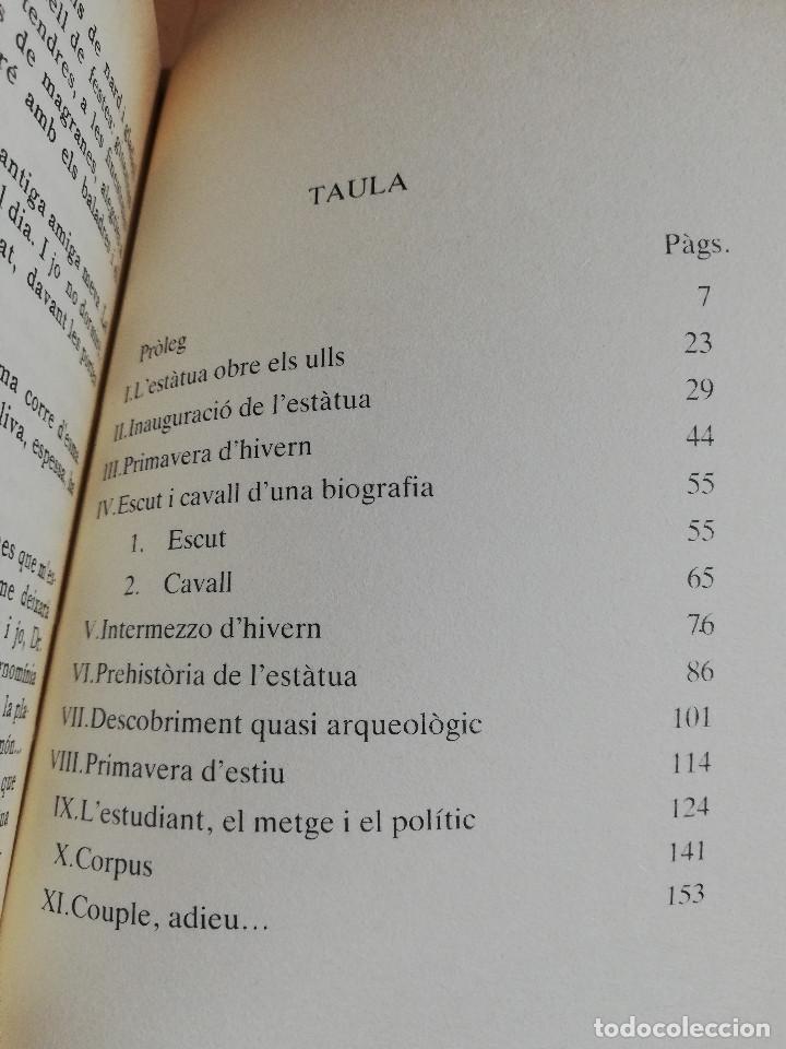 Libros de segunda mano: MEMÒRIES DUNA ESTÀTUA (BERNAT VIDAL I TOMÀS) BIBLIOTECA BÀSICA DE MALLORCA - Foto 3 - 224001938