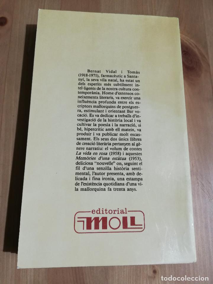 Libros de segunda mano: MEMÒRIES DUNA ESTÀTUA (BERNAT VIDAL I TOMÀS) BIBLIOTECA BÀSICA DE MALLORCA - Foto 4 - 224001938