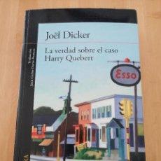 Libros de segunda mano: LA VERDAD SOBRE EL CASO HARRY QUEBERT (JOËL DICKER). Lote 224005705