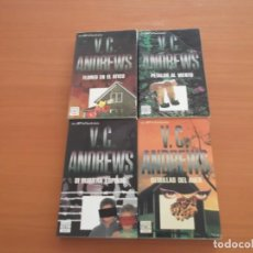 Libros de segunda mano: 4 LIBROS DE BOLSILLO DE V.C. ANDREWS. Lote 224084583