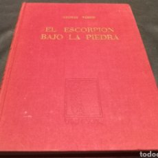 Libros de segunda mano: EL ESCORPIÓN BAJO LA PIEDRA - GEORGE TABORI - EDITORIAL VICTORIA. Lote 224215361