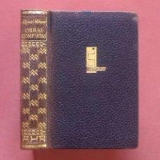 Libros de segunda mano: OBRAS COMPLETAS MIGUEL MIHURA - AHR - 1ª EDICION 1962.. Lote 225228188
