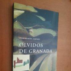 Libros de segunda mano: OLVIDOS DE GRANADA. JUAN RAMÓN JIMÉNEZ. RÚSTICA. BUEN ESTADO CON EX-LIBRIS.. Lote 225735470