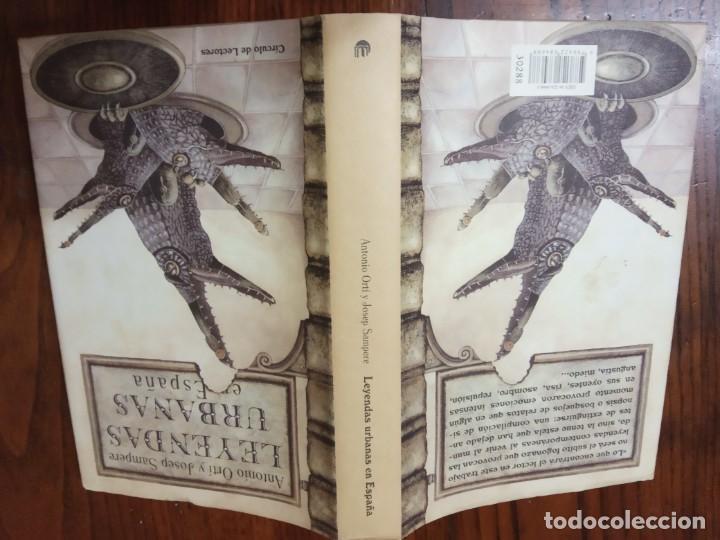 Libros de segunda mano: Leyendas urbanas en España-ANTONIO ORTI Y JOSEP SAMPERE. - Foto 2 - 225847150