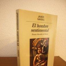 Libros de segunda mano: JAVIER MARÍAS: EL HOMBRE SENTIMENTAL (ANAGRAMA, 1986) MUY BUEN ESTADO. PRIMERA EDICIÓN.. Lote 265337744