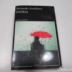 Livros em segunda mão: FERNANDO ARAMBURU PATRIA Q4022A. Lote 226808480