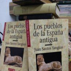 Libri di seconda mano: LOS PUEBLOS DE LA ESPAÑA ANTIGUA, JUAN SANTOS YANGUAS (2 TOMOS). L.5798-1376. Lote 227230055