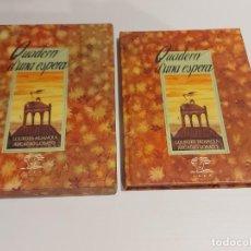 Libros de segunda mano: QUADERN D'UNA ESPERA / LOURDES HUANQUI - ARCADIO LOBATO / EDICIÓN EN ESTUCHE-LUJO.. Lote 227250560