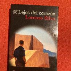 Livros em segunda mão: LEJOS DEL CORAZÓN – LORENZO SILVA (1ª ED.). Lote 227476545