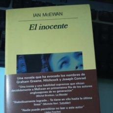 Libros de segunda mano: IAN MCEWAN EL INOCENTE. Lote 227777805