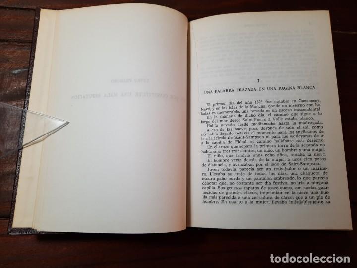 Libros de segunda mano: LOS TRABAJADORES DEL MAR - VICTOR HUGO - EDITORIAL LORENZANA, 1965, 1ª EDICION, BARCELONA - Foto 7 - 228248190