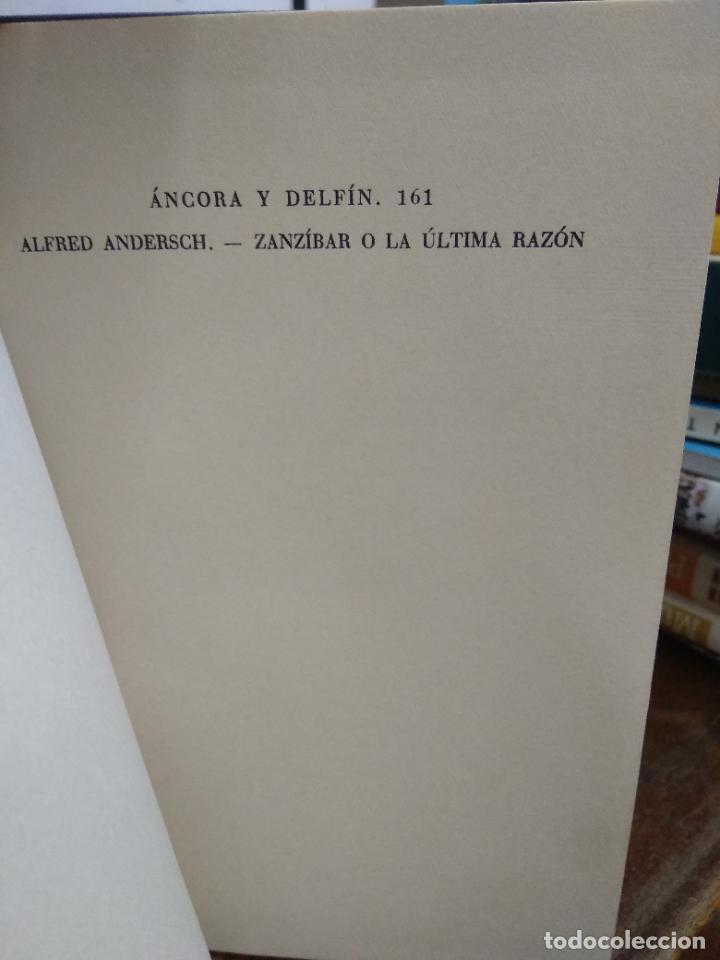 Libros de segunda mano: Zanzibar o la última razón, Alfred Andersch. 1959. L.36-865 - Foto 3 - 228323490