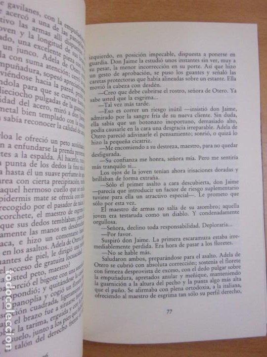 Libros de segunda mano: EL MAESTRO DE ESGRIMA / ARTURO PEREZ-REVERTE / 3ª Ed. 1992. MONDADORI - Foto 2 - 228324090